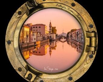 Photo Frame Round | Porthole: Battaglia Terme