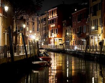 Fotoquadro Night in Venice