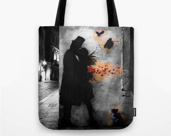 Tote Bag - Kennyrandom B/N