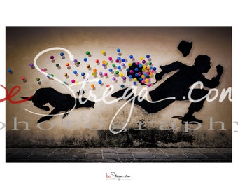 Fotoquadro murales Kenny Random | Catch me if you can