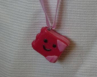 Pink Book pendant jewelry