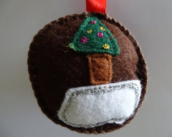 christmas decoration, felt ball