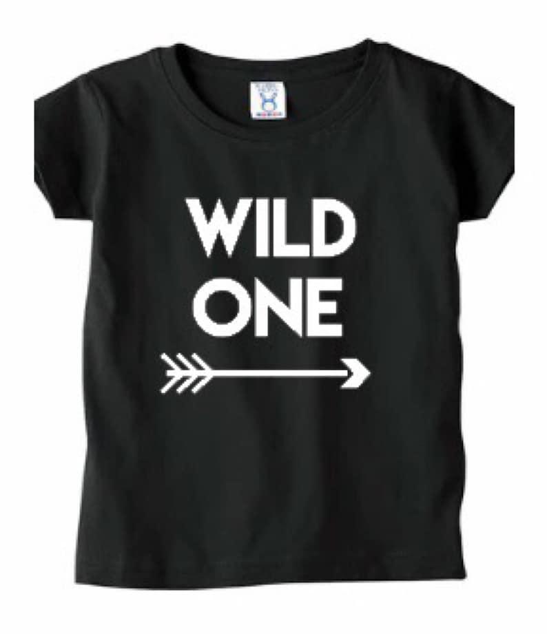WILD ONE First Birthday Shirt Shirts For Boys