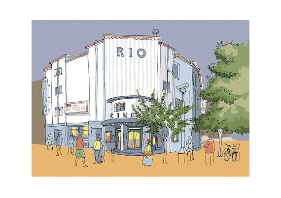 cinema east london