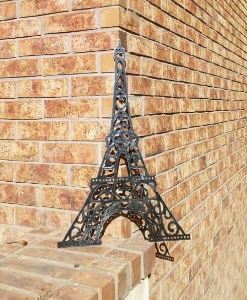 Eiffel Tower Metal Wall Art Hanging. Eiffel Tower Kitchen Art