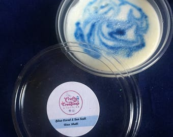 Blue Coral & Sea Salt Soy Wax Melt Snap Pot