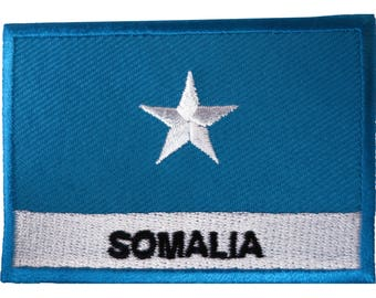 PUNTLAND SOMALIA  FLAG PATCH patches backpack  BADGE IRON ON NEW EMBROIDERED