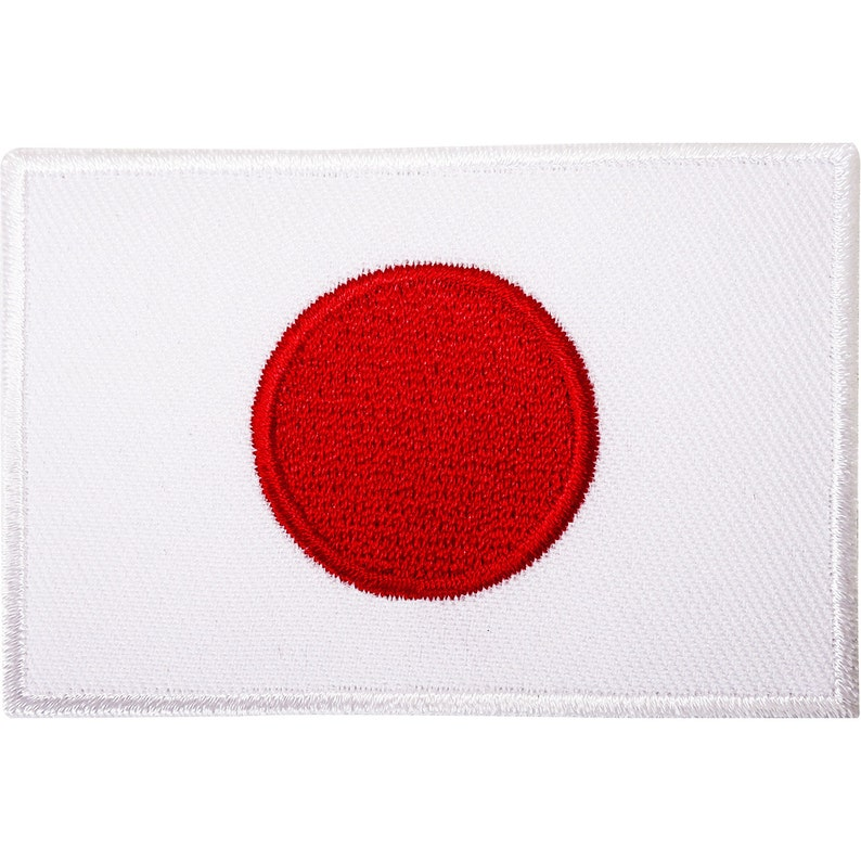56d5377b8ca8 Japan Flag Embroidered Iron / Sew On Patch Japanese Karate GI Suit T Shirt  Badge