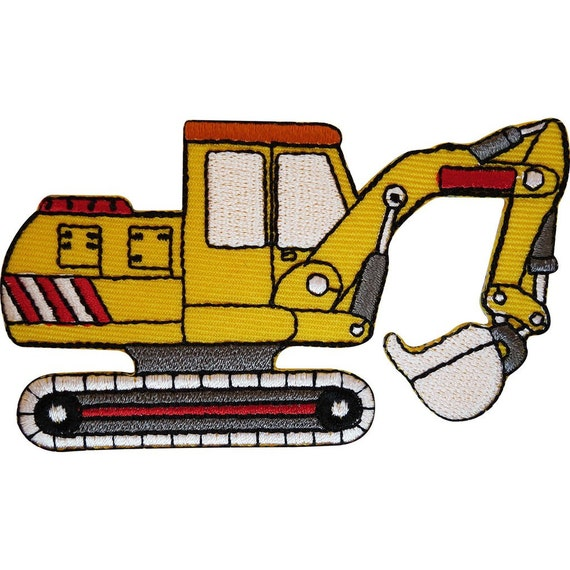 BUCKET DIGGER  Sew On Iron On Patch Crafts