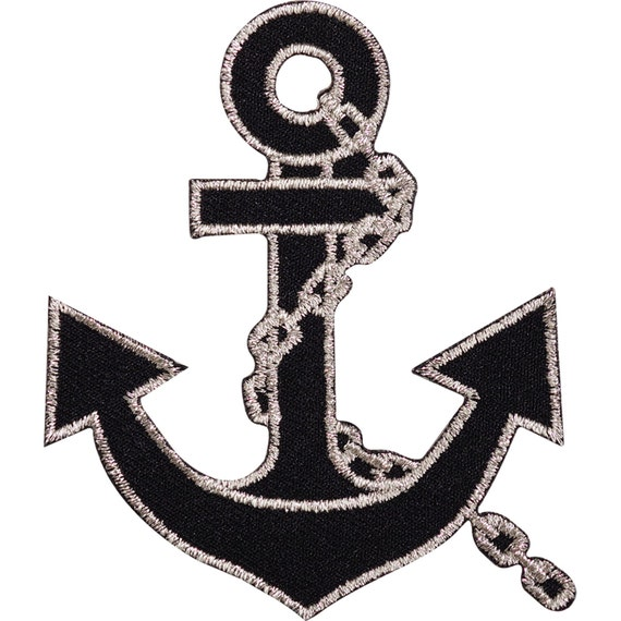 Sailor Clothes Fancy Dress Anchor Lady Iron//Sew on Embroidered Patch UKSeller