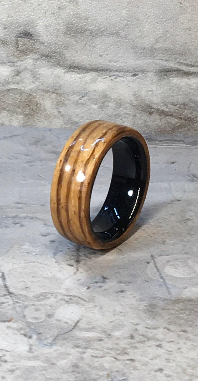 Bentwood Ring Zebra Wood