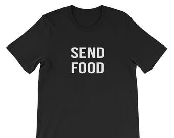 Send Food Shirt Funny College Student Graduation Tee