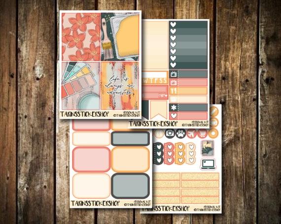 Grateful  PERSONAL KIT  PP Weeks Sticker Kit 50+ Stickers
