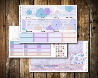 Chic Floral // Monthly Sticker Kit