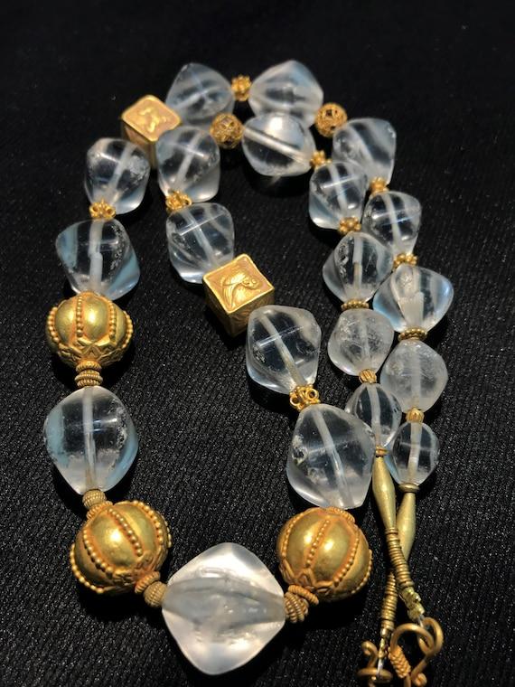 Tang dynasty crstals quartz beads with same dynast
