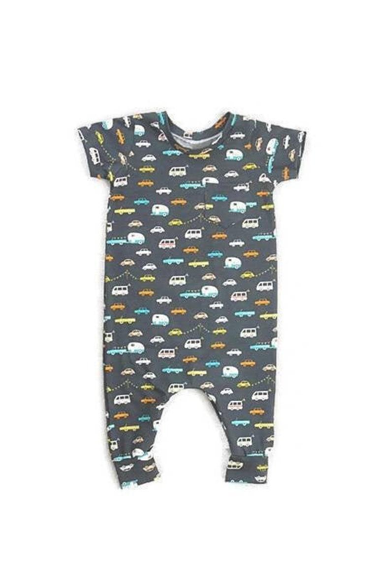 291cd9c73 Baby romper, baby zipper romper, baby boy romper, baby boy summer outfit,  baby cars outfit, car baby romper, zipper romper, baby boy clothes