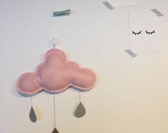 "Mobile ""big cloud"" pink"
