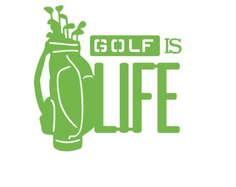 Golf Life Decal