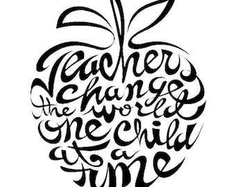 Teacher Decal