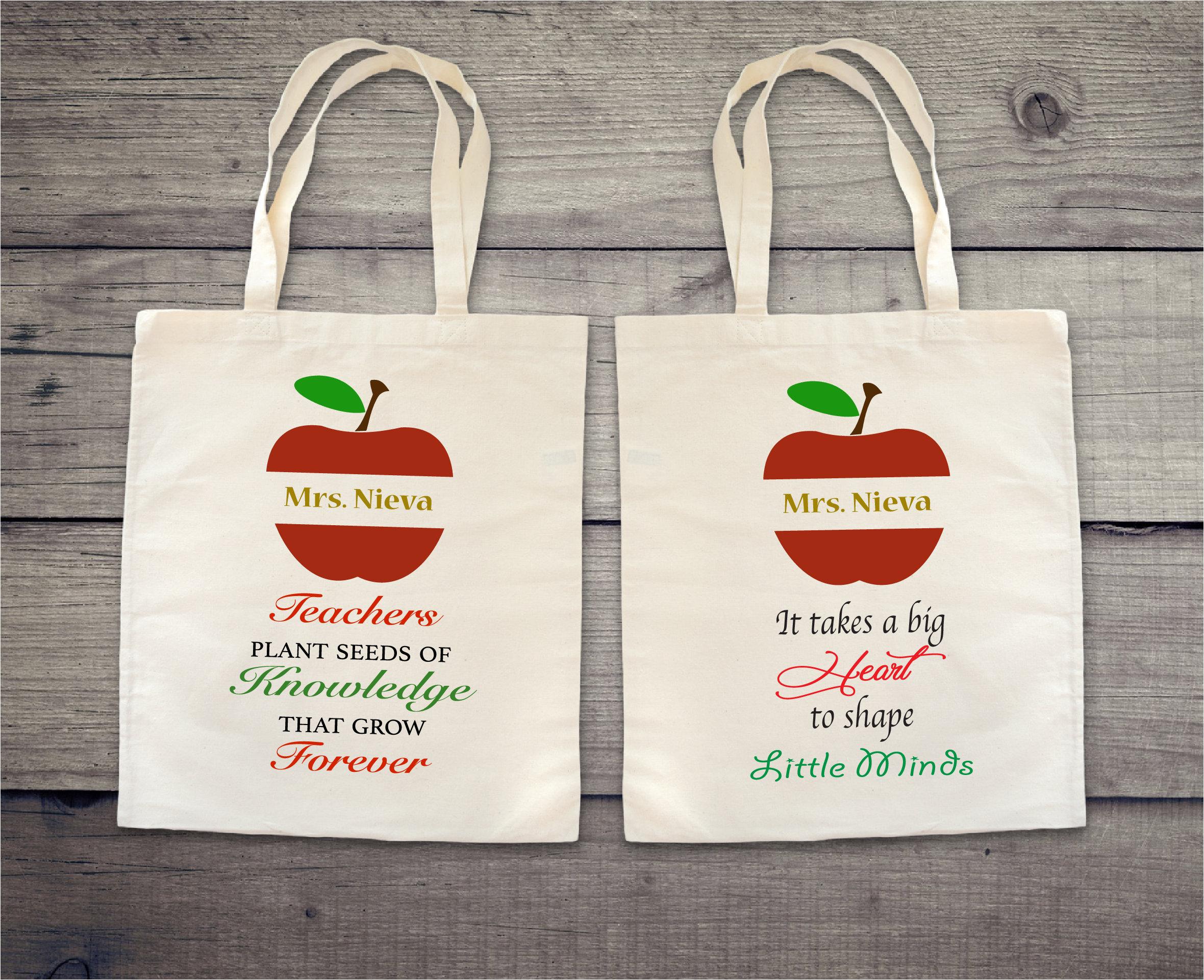 Teacher Totes, Teacher Quotes, Teacher Appreciation, Teacher Gifts,  Teaching Little Minds, Teacher Bags, Personalized Teacher Gift