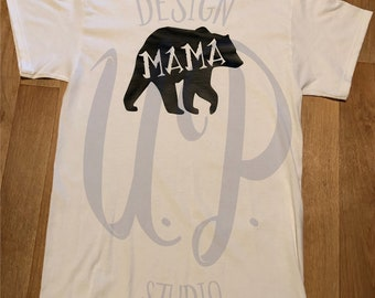 Mama Bear Shirt- Mother's Day Gift- Personalized Shirt for Mom- Mother's Day- Mom Life- Bear Family- Mom Gift- Gift for her