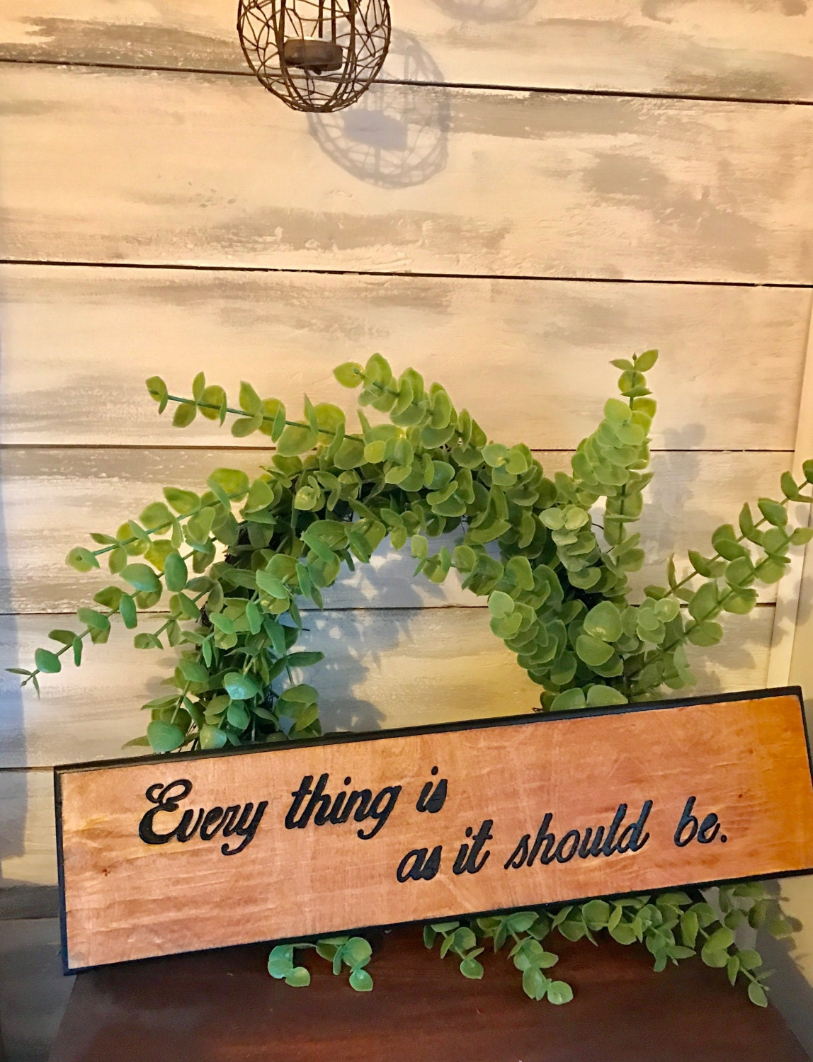Quote Carved Rustic Wood Sign Wall decor Wall art Rustic Signs Home ...