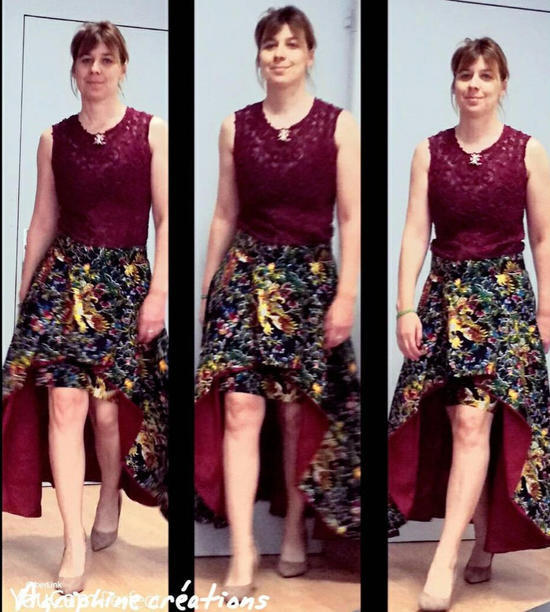 Skirt lined wax size 4042 Skirt lined with wax size 1012