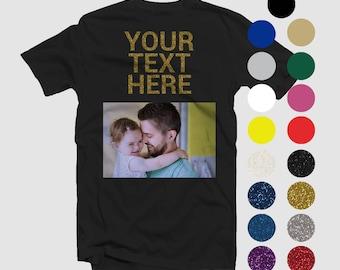 8d6f09252 Custom Fathers Day T-Shirt