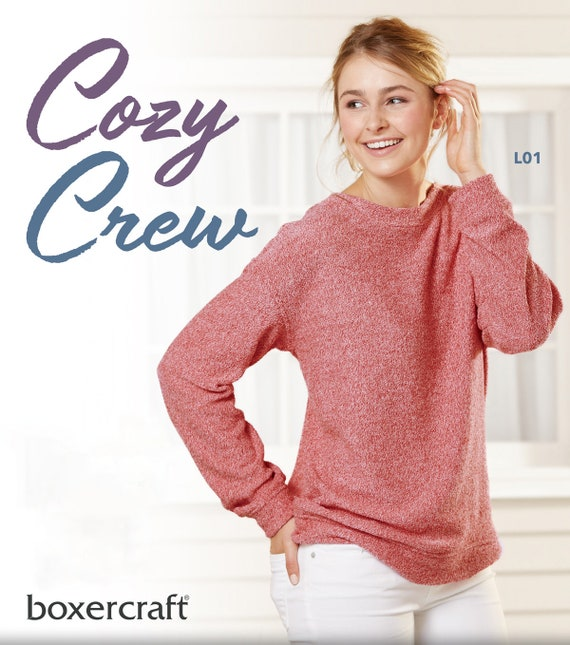 Women/'s Cozy Crew Boxercraft L01 New for 2018!