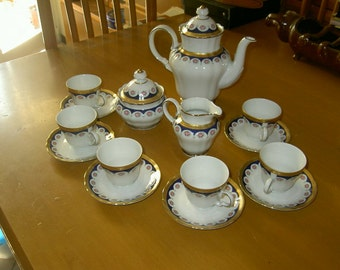 Coffee set for 6