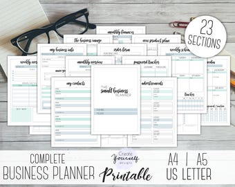 financial planner printable digital planner budget planner etsy