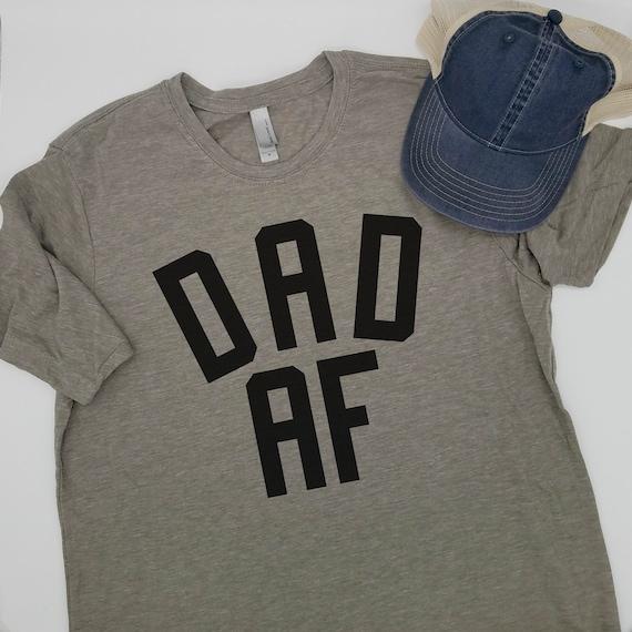 0fa6eb73 DAD AF Shirt Dad Shirt Father Shirt Funny Dad Shirt Gift | Etsy