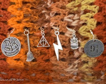 Harry Potter Stitch Markers Made to Order