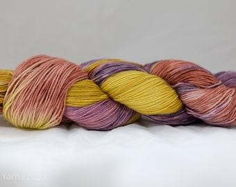 Baarney Hand Dyed BFL Sock Yarn