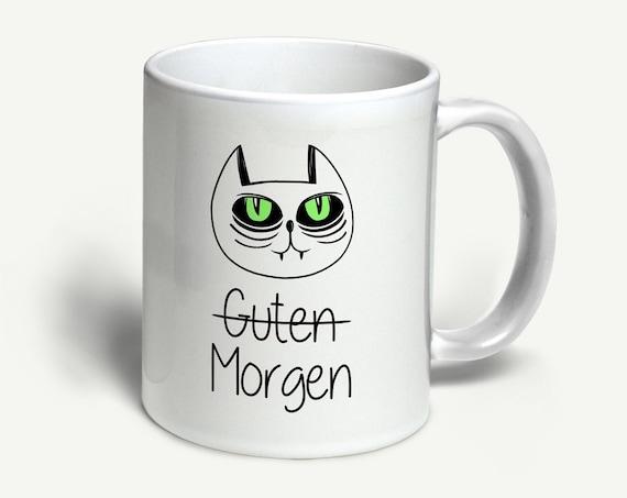 """Tasse """"Morgenmuffel""""   in 6 Farben erhältlich"""