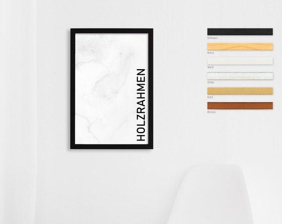"Bilderrahmen | Holzrahmen ""Peppers"" | für Fotografien, FineArt, Kunstdrucke, Poster, Urkunden"