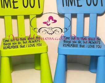 Childrens Time out Chair