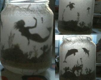 Fairy Lantern, Mermaid Lantern