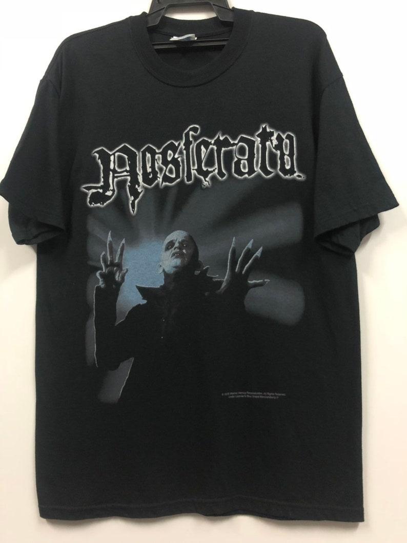 vintage nosferatu horror movies 90s shirt by blue grape dracula the mask