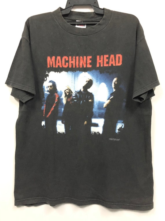 Official Machine Head Goliath Unisex T-Shirt Classic Crest Locust Diamond Rock