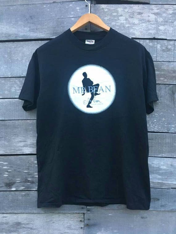 bean Vintage classic mr comedy t shirt lagend 90s OOp5r7qw