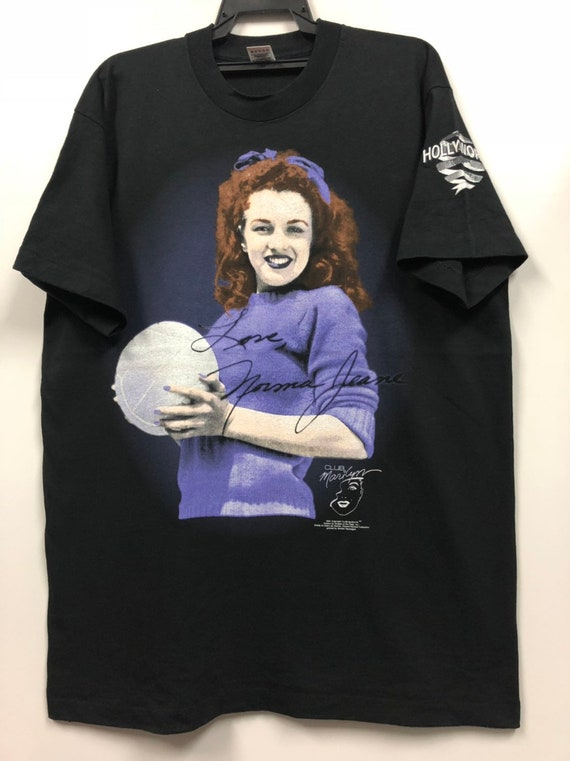 vintage club marilyn promo t shirt 90s marilyn  mo