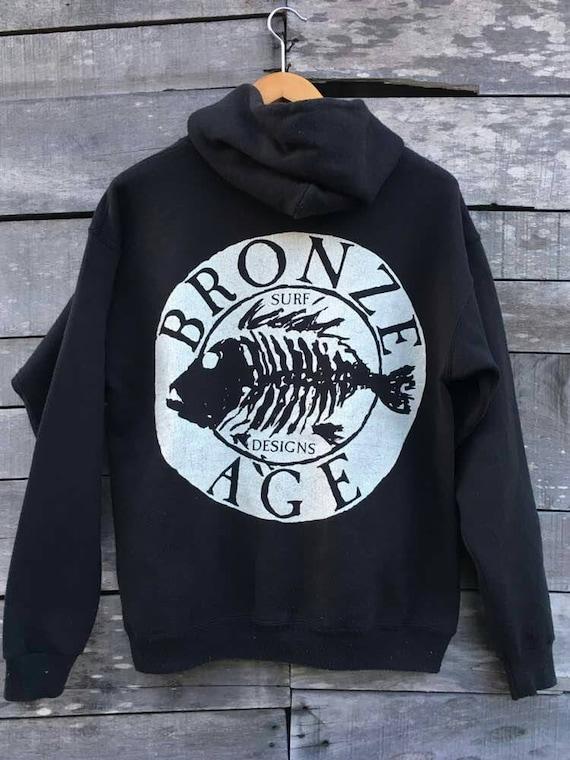 age skater design powell hoodie Vintage brand surfing bronze 90s surf BSwnR5q1