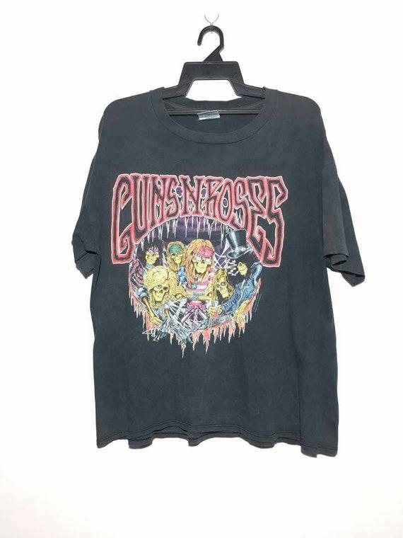 tokyo jovi iron metallica shirt aerosmith zeppelin shirt gun led promo band Vintage 93 n maiden tour bon japan t roses zfqwp1F7
