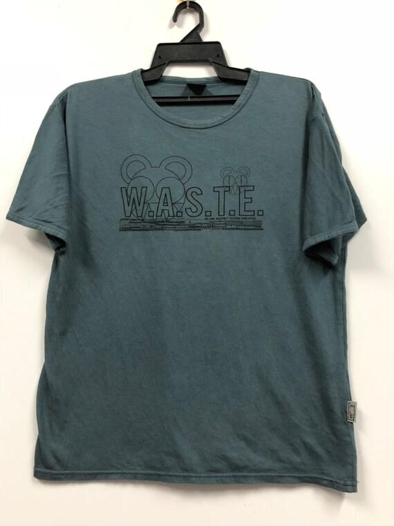 vintage radiohead waste t shirt grunge