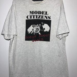 vintage hi-standard pizza of the death record 90s tour t shirt