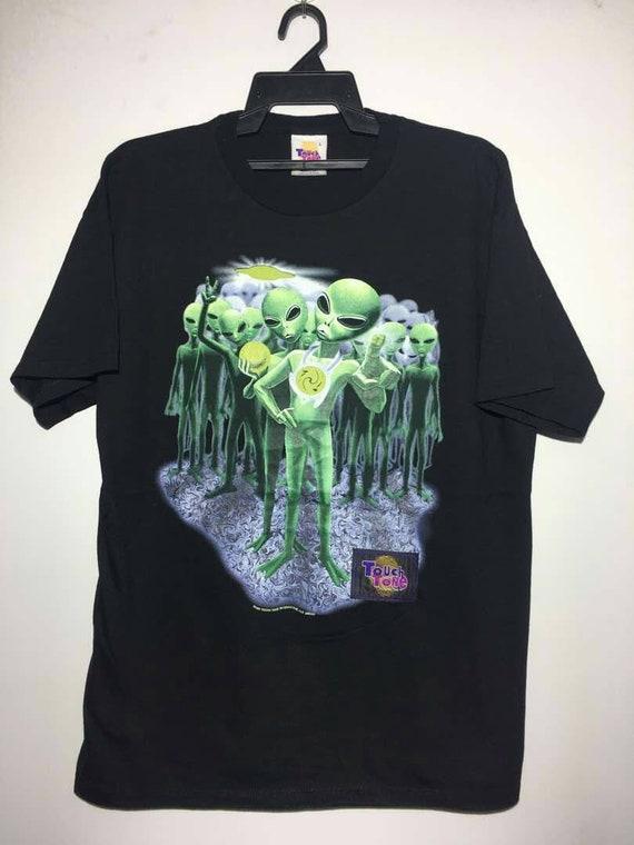 Vintage alien 90s shirt the mask cartoon network