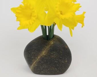 Beach Stone Vase, Stone Vase, Rock Vase