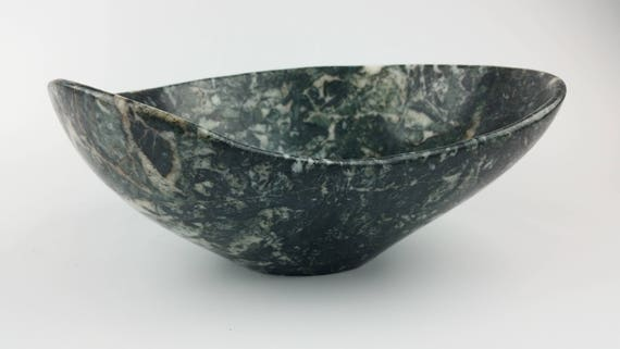 Stone Bowl Stone Sculpture Centerpiece Bowl Decorative Bowl Etsy Awesome Centerpiece Bowls For Decoration