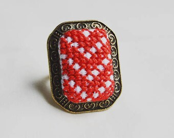 Palestinian handcrafted ring.